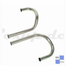 Exhaust pipes incl. balance pipe, stainless steel...