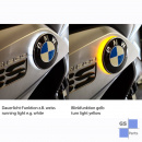 Two colour BMW roundel badge lightsR1200GS LC since 2013