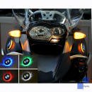 For BMW R1200GS Adv. up to 2013 two colour BMW roundel...
