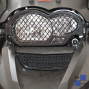 Oil cooler grills - black