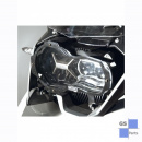 Headlight protector, foldable - clear from 2013-2016