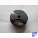 Safety oil filler plug - titanium