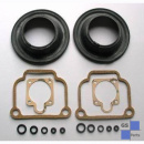 carburettor gasket set incl. diaphragm for 2 carb. 32mm BING