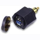 Dual USB Ladestecker Adapter mit LED Voltmeter für...